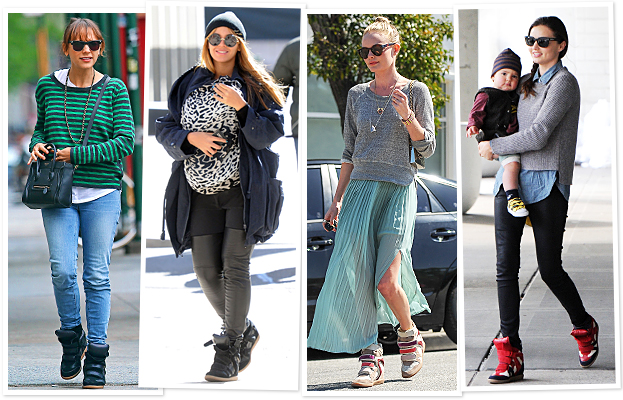 Wedge Sneakers, Rashida Jones, Beyonce, Kate Bosworth, Miranda Kerr