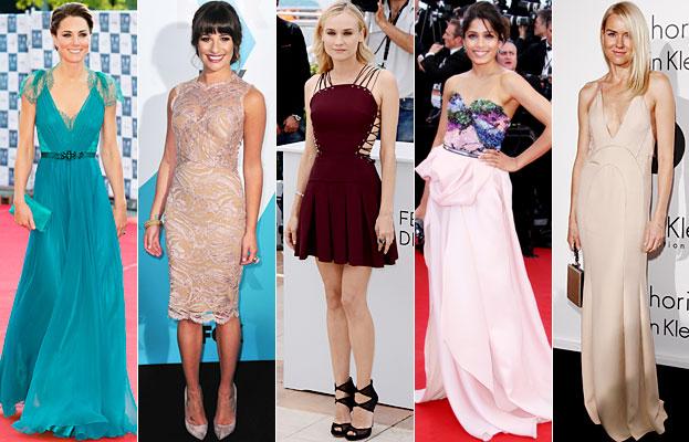 Kate Middleton, Lea Michele, Diane Kruger, Freida Pinto, Naomi Watts