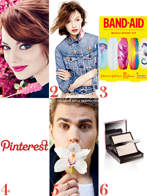 Emma Stone, Revlon, Pamela Love, J. Crew