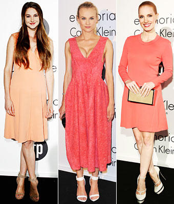 Shailene Woodley, Diane Kruger, Jessica Chastain