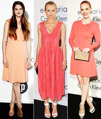 Shailene Woodley, Diane Kruger, Jessica Chastain