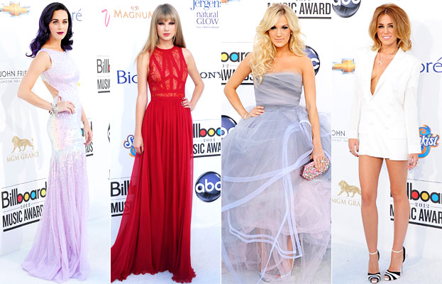 2012 Billboard Music Awards, Katy Perry, Taylor Swift, Carrie Underwood, Miley Cyrus