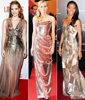 Jessica Chastain, Diane Kruger, Jada Pinkett-Smith
