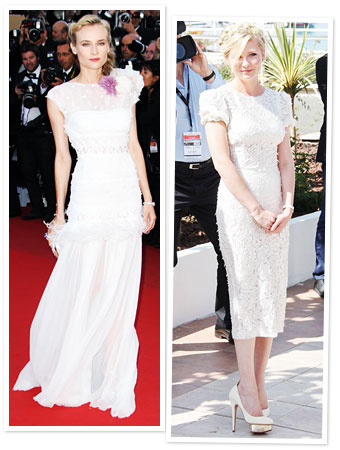 Diane Kruger, Kirsten Dunst, Cannes 2012