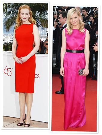 Nicole Kidman, Kirsten Dunst, Cannes Film Festival 2012