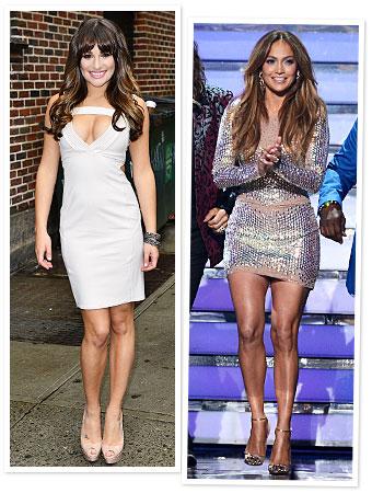 Lea Michele, Jennifer Lopez, Christian Louboutin