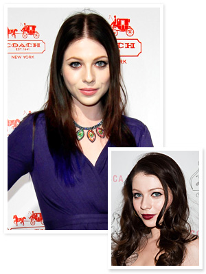 Michelle Trachtenberg&#039;s Blue Hair