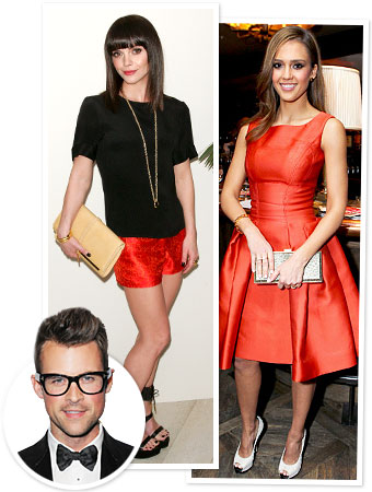 Brad Goreski, Christina Ricci, Jessica Alba