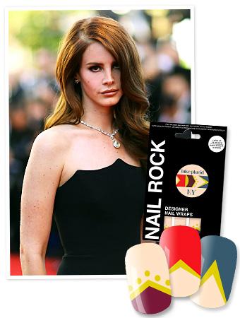 Lana Del Rey - Nail Rocks Nail Wraps