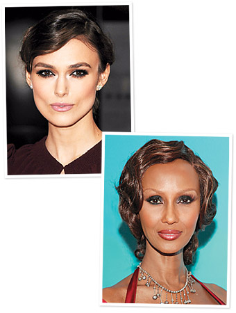 Keira Knightley, Iman