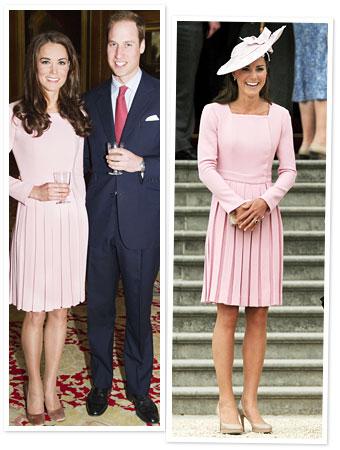 Kate Middleton Pink Dress
