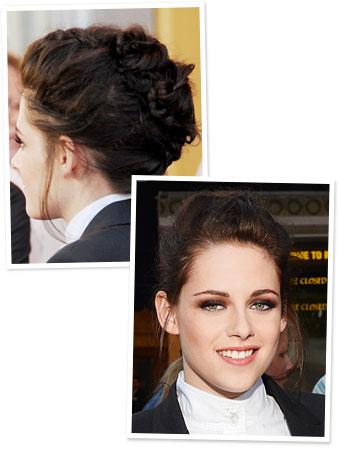 Kristen Stewart Black Hair on Kristen Stewart Hair