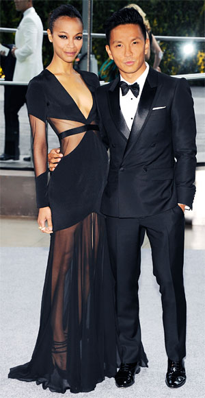 Prabal Gurung and Zoe Saldana