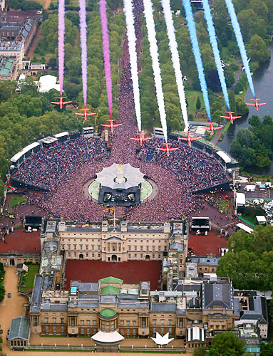 Buckingham Palace, Diamond Jubilee