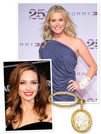 Angelina Jolie, Rebecca Romijn