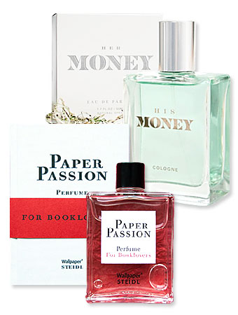 Money and Book Scented Perfumes