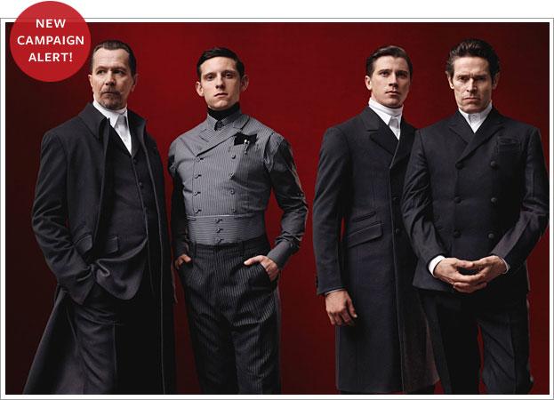 Prada men's campaign