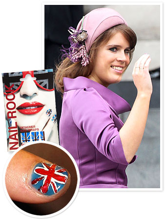 Princess Eugenie Nail Art