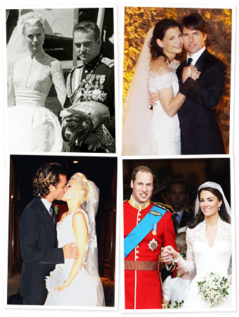 celebrity brides