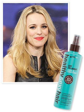 Rachel McAdams, Hair Tips