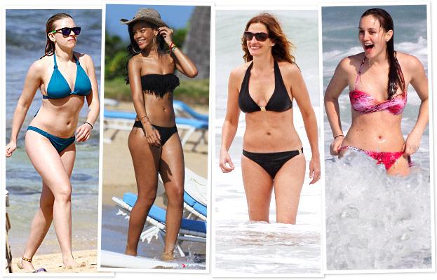 Scarlett Johansson, Rihanna, Julia Roberts, Leighton Meester