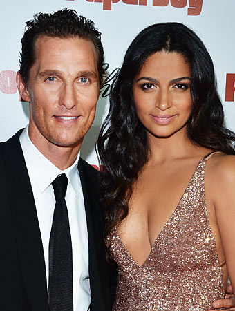 Matthew McConaughey, Camila Alves