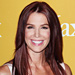 Poppy Montgomery's New Dark Red Hair Color