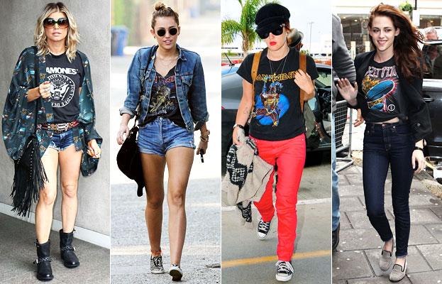 Fergie, Miley Cyrus, Drew Barrymore, Kristen Stewart