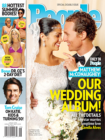 Camila Alves, Wedding Gown
