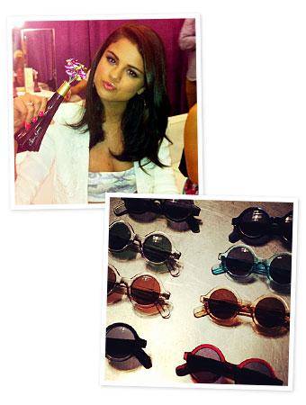 Selena Gomez, Jonathan Saunders, Instagram
