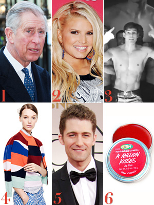 Prince Charles, Jessica Simpson