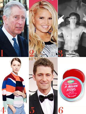 Prince Charles, Jessica Simpson