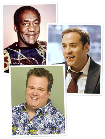 Bill Cosby, Jeremy Piven, Eric Stonestreet