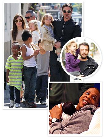 Brad Pitt, Ben Affleck, Jay-Z