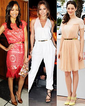Zoe Saldana, Jennifer Lopez, Marion Cotillard