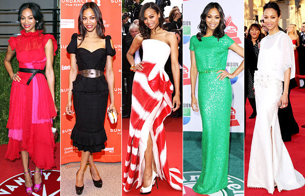 Zoe Saldana fashion
