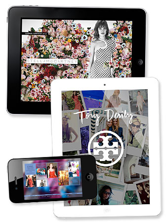 Apps, iPhone, iPad, Stella McCartney, Lanvin, Tory Burch
