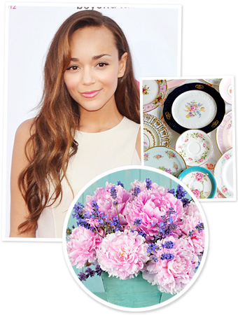 Ashley Madekwe, Wedding