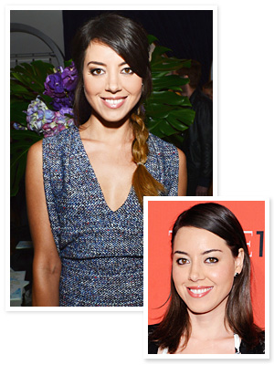 Aubrey Plaza Hair
