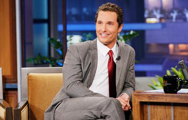 Matthew McConaughey, Jay Leno