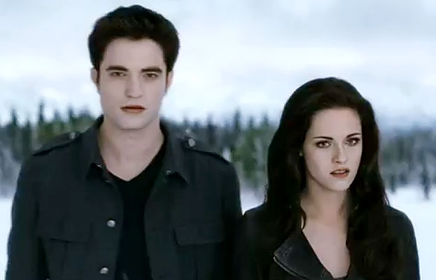 Breaking Dawn, Robert Pattinson, Kristen Stewart