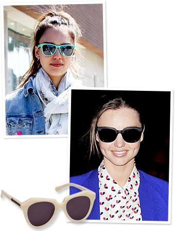 Star Sunglasses, Jessica Alba, Miranda Kerr