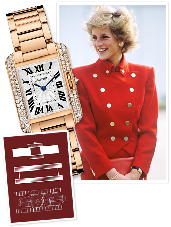 Cartier, Princess Diana 