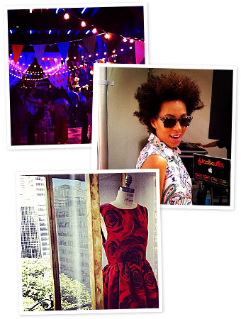 Solange Knowles, Coach, Alice + Olivia, Instagram