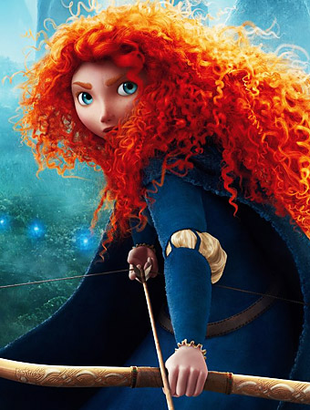Brave, Princess Merida