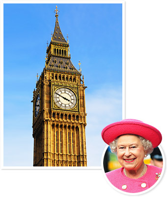 Queen Elizabeth, Big Ben