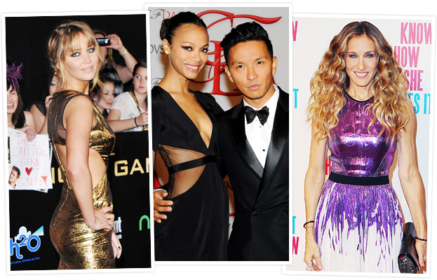 Jennifer Lawrence, Zoe Saldana, Prabal Gurung, Sarah Jessica Parker