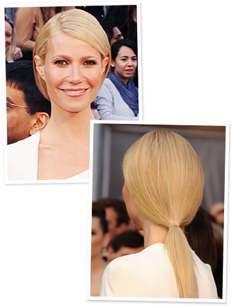 Gwyneth Paltrow, Hair, Ponytail