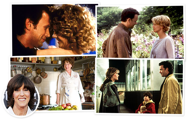 Nora Ephron, When Harry Met Sally, Sleepless in Seattle, You've Got Mail, Julie & Julia