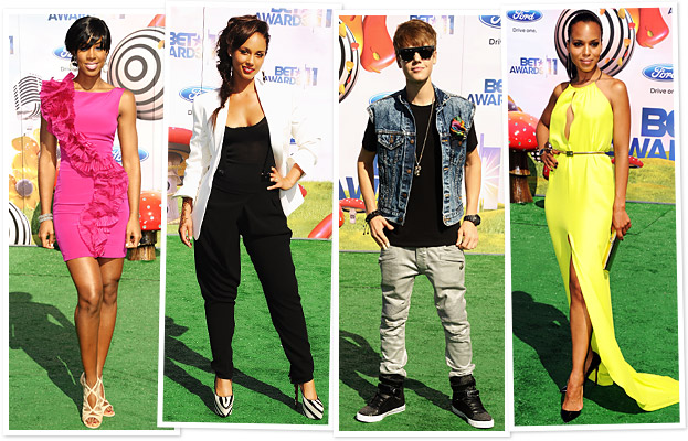 Kelly Rowland, Alicia Keys, Justin Bieber, Kerry Washington